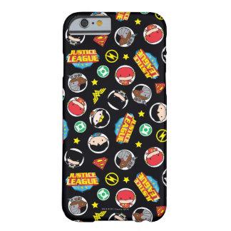 Coque iPhone 6 Barely There Motif de héros et de logos de ligue de justice de