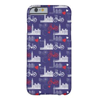 Coque iPhone 6 Barely There Motif de points de repère de Londres