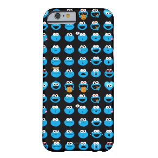 Coque iPhone 6 Barely There Motif d'Emoji de monstre de biscuit