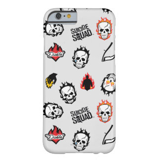 Coque iPhone 6 Barely There Motif du peloton | Diablo Emoji de suicide