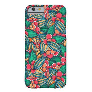 Coque iPhone 6 Barely There Motif illustré abstrait coloré de graines de cacao