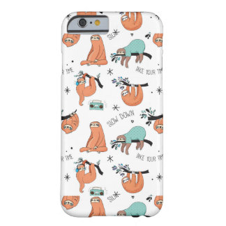 Coque iPhone 6 Barely There Motif mignon de paresse