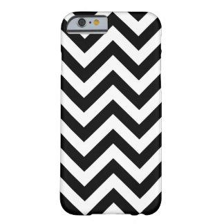 Coque iPhone 6 Barely There Motif noir et blanc de Chevron