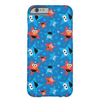 Coque iPhone 6 Barely There Motif patriotique d'Elmo et de monstre de biscuit
