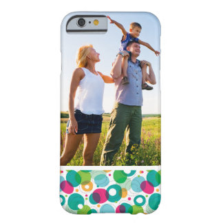 Coque iPhone 6 Barely There Motif rond d'enfants de bulles de photo faite sur