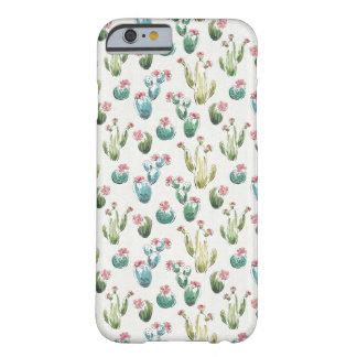 Coque iPhone 6 Barely There Motif rose d'étape | de fleur de désert
