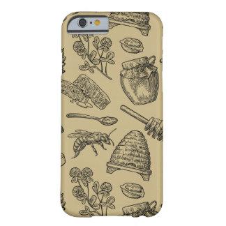 Coque iPhone 6 Barely There Nature naturelle organique vintage de ruche