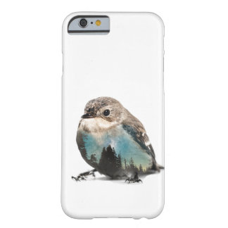 Coque iPhone 6 Barely There Oiseau de double exposition