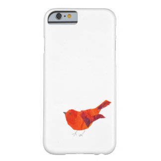 Coque iPhone 6 Barely There Oiseau rouge mignon