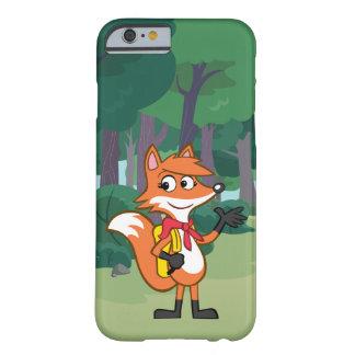 Coque iPhone 6 Barely There Ondulation de Fox de Rick | Scarlett de garde