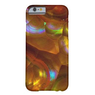 Coque iPhone 6 Barely There Opale de feu orange iridescente