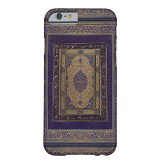 Coque iPhone 6 Barely There Or antique sur la couverture de livre décorative