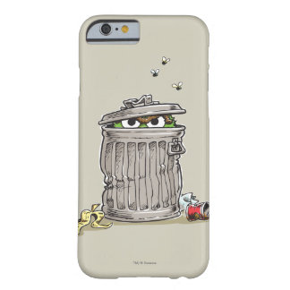 Coque iPhone 6 Barely There Oscar vintage dans la poubelle