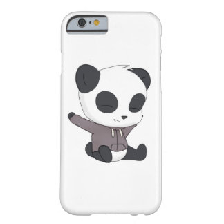 Coque iPhone 6 Barely There Panda heureux