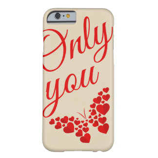 Coque iPhone 6 Barely There papillon d'amour de l'iphone 6
