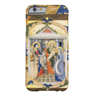 COQUE iPhone 6 BARELY THERE PARCHEMIN FLORAL ANTIQUE DE NOËL DE NATIVITÉ