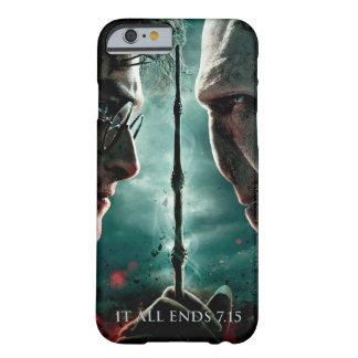 Coque iPhone 6 Barely There Partie de Harry Potter 7 - Harry contre Voldemort