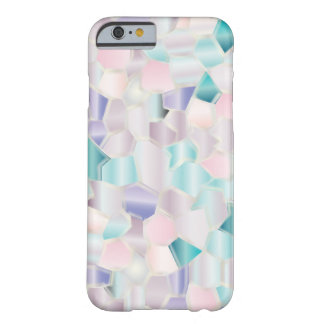 Coque iPhone 6 Barely There Pastels iridescents de mosaïque