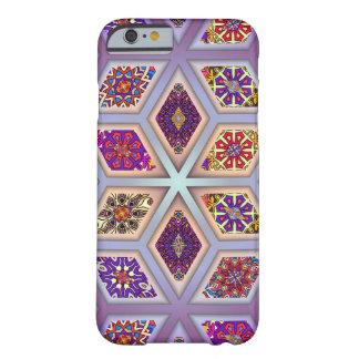 Coque iPhone 6 Barely There Patchwork vintage avec les éléments floraux de