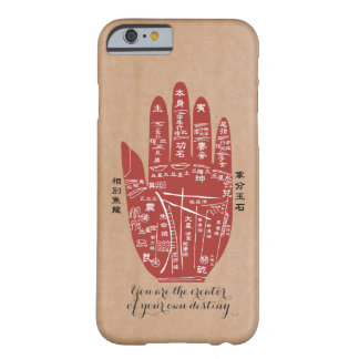 Coque iPhone 6 Barely There Paume de Jitaku lisant la caisse intelligente de