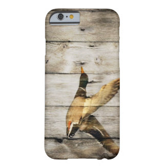 Coque iPhone 6 Barely There Pays occidental en bois de grange rustique