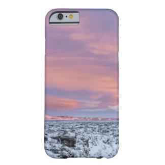 Coque iPhone 6 Barely There Paysage de gisement de lave de Milou, Islande