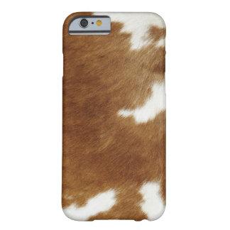 Coque iPhone 6 Barely There Peau de vache
