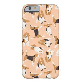 Coque iPhone 6 Barely There pêche de dispersion de beagle