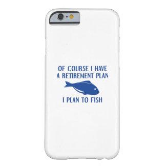 Coque iPhone 6 Barely There Pêche de régime de retraite