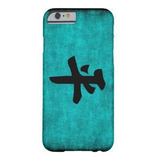 Coque iPhone 6 Barely There Peinture de caractère chinois pour la paix dans le
