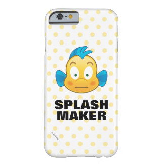Coque iPhone 6 Barely There Petit flet d'Emoji | de sirène
