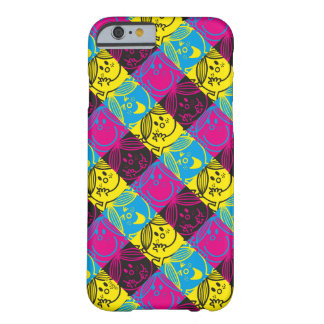 Coque iPhone 6 Barely There Petit motif au néon de Mlle Sunshine |