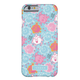 Coque iPhone 6 Barely There Petite Mlle le princesse | motif assez rose et