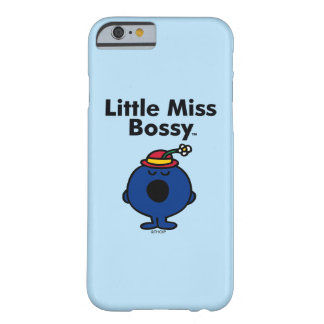 Coque iPhone 6 Barely There Petite petite Mlle Bossy de la Mlle | est si