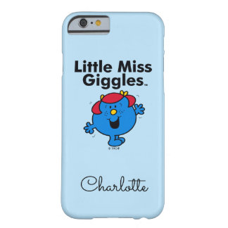 Coque iPhone 6 Barely There Petite petite Mlle Giggles Likes To Laugh de la