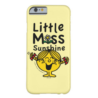 Coque iPhone 6 Barely There Petite petite Mlle Sunshine Laughs de la Mlle |