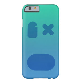 Coque iPhone 6 Barely There PhoneCase bleu-vert