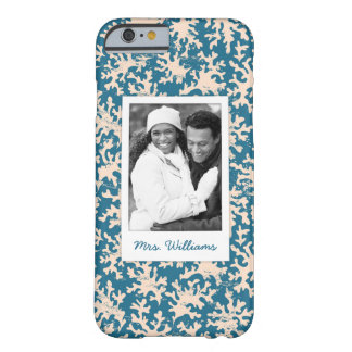 Coque iPhone 6 Barely There Photo faite sur commande et beau motif de corail