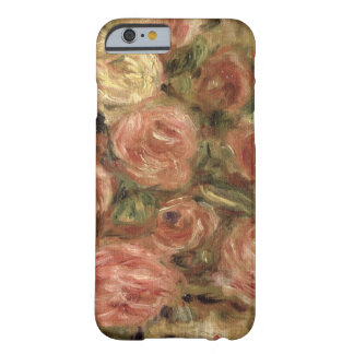 Coque iPhone 6 Barely There Pierre fleurs de Renoir un |