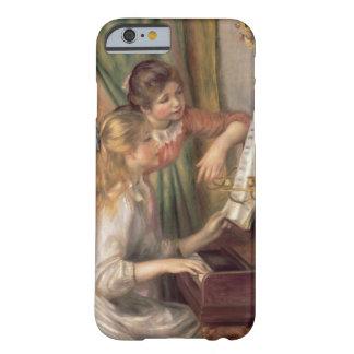 Coque iPhone 6 Barely There Pierre jeunes filles de Renoir un | au piano