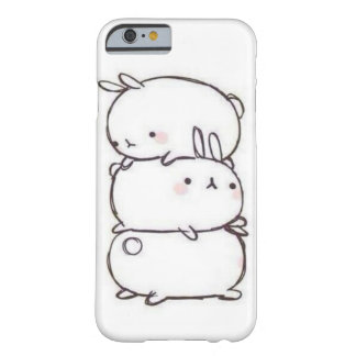 Coque iPhone 6 Barely There Pile de lapin