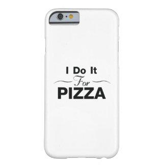 Coque iPhone 6 Barely There Pizza de motivation de gymnase de yoga d'exercice