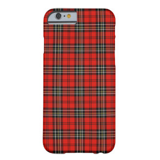 Coque iPhone 6 Barely There Plaid vintage rouge