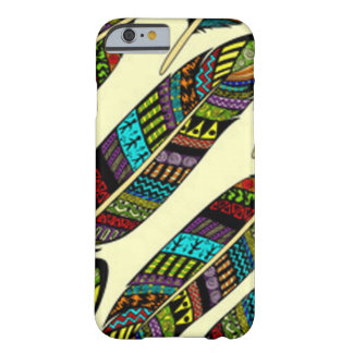 Coque iPhone 6 Barely There Plumes africaines
