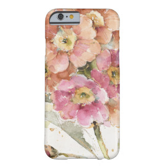 Coque iPhone 6 Barely There Primevère rose et orange