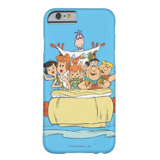 Coque iPhone 6 Barely There Promenade en voiture de famille de Flintstones