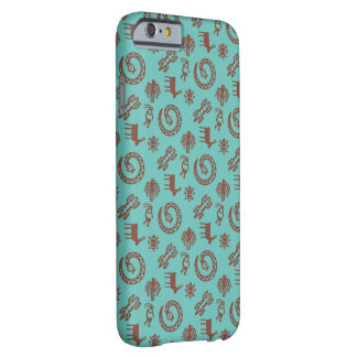 Coque iPhone 6 Barely There Pueblo et turquoise