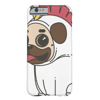 COQUE iPhone 6 BARELY THERE PUG UNICORN