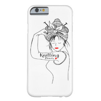 Coque iPhone 6 Barely There puissance de tricot