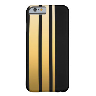 Coque iPhone 6 Barely There Rayure triple d'or
